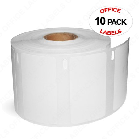 """10 Rolls of 30334 Compatible Multipurpose Labels for DYMO 2-1/4"""" X 1-1/4"""" (32mm x 57mm) - image 3 of 3"""