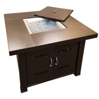 Hiland Fire Pit Hammered Bronze Finish