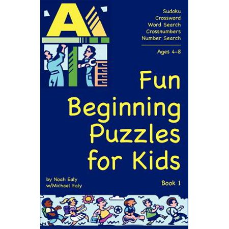 Fun Beginning Puzzles for Kids, Book