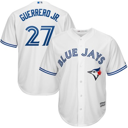 Toronto Blue Jays Jersey (Vladimir Guerrero Jr. Toronto Blue Jays Majestic Youth Home Official Cool Base Player Jersey - White )