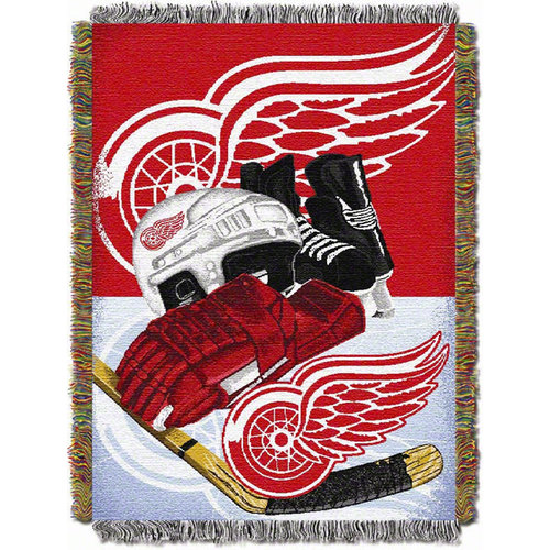 NHL - Detroit Red Wings 48x60 Home Ice Advantage Tapestry Throw