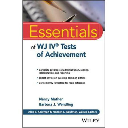 Essentials of Wj IV Tests of