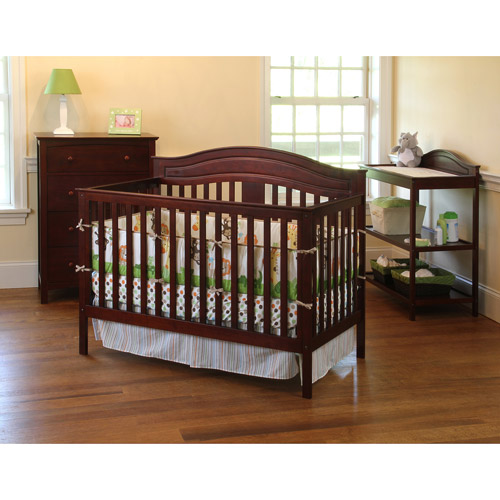 Child of Mine Amelia 4-in-1 Fixed-Side Crib