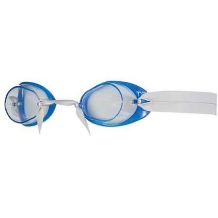 TYR Socket Rocket 2.0 Goggle: Blue Frame/Clear Lens (Tyr Socket Rocket)