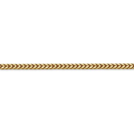 14k Yellow Gold 2.5mm Franco Chain Necklace 20 Inch Pendant Charm Fine Jewelry Gifts For Women For Her - image 4 of 9