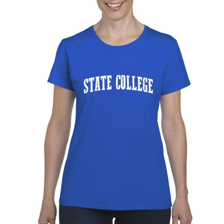 State College Pennsylvania T Shirt Home Of Penn University And PSU Nittany Lions Artix Womens Shirts