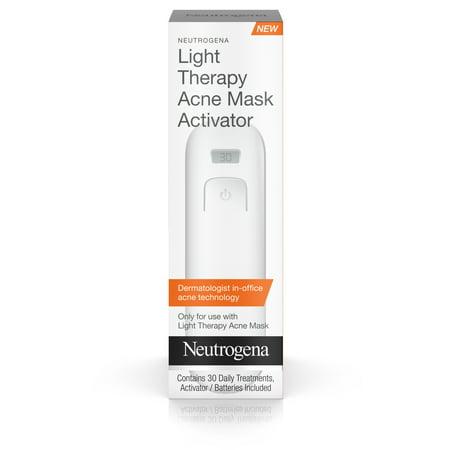 Neutrogena Light Therapy Acne Treatment Face Mask Activator, 1 (Neutrogena Light Therapy Acne Spot Treatment Canada)