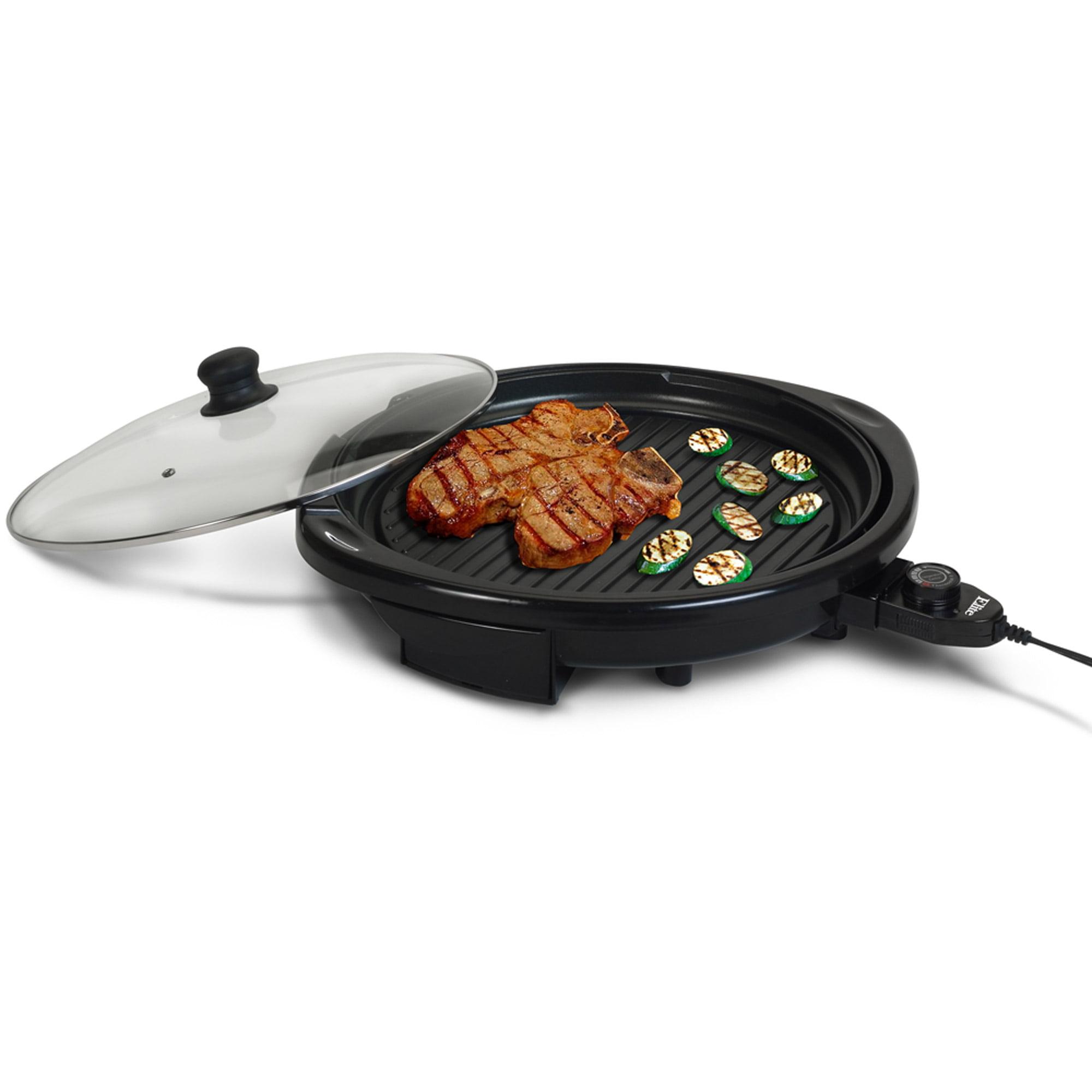 Elite Gourmet EMG-980B 14 Electric Indoor Grill, Black