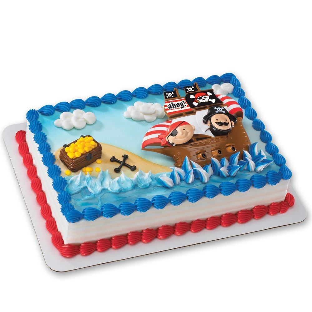 Little Pirates Cake Topper Kit