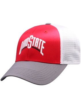 081844105fa Product Image Men s Russell Scarlet White Ohio State Buckeyes Steadfast  Snapback Adjustable Hat - OSFA