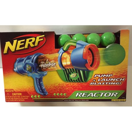 Nerf Reactor Blaster ~ Pump & Launch Blasting Toy