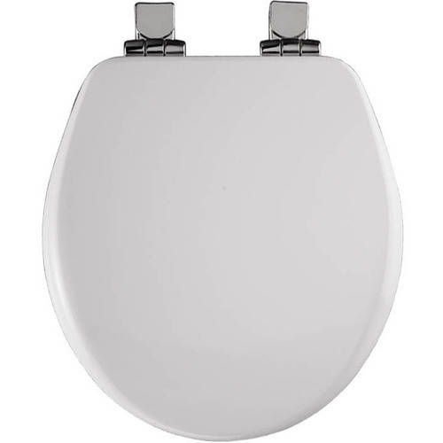 bemis 9170chsl wood round slowclose toilet seat available in various colors