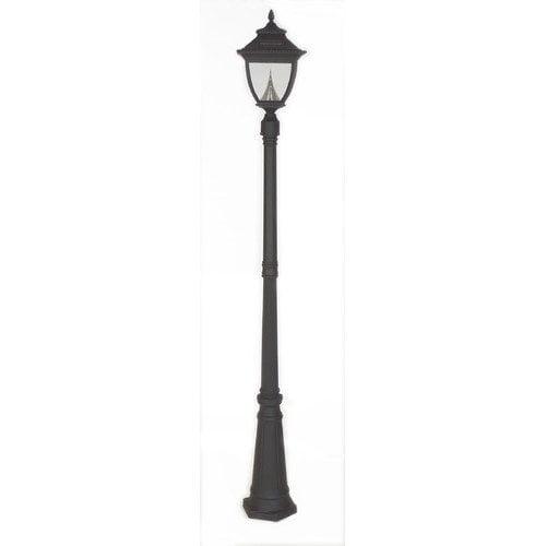 Gama Sonic Pagoda Solar Lamp Post and Eight-LED Lantern