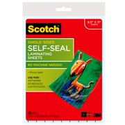 """Scotch Self-Seal Laminating Pouches, 10 Count, 8.5"""" x 11"""""""