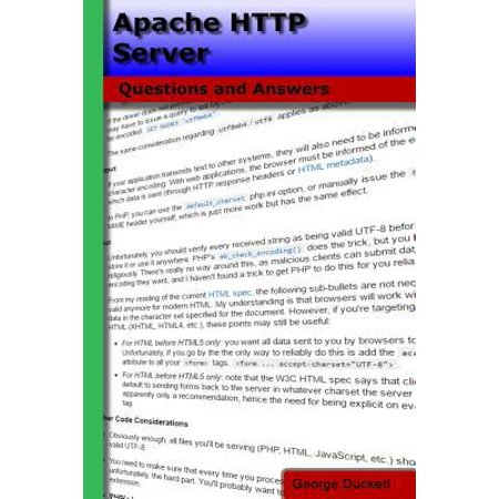 Apache Http Server  Questions And Answers