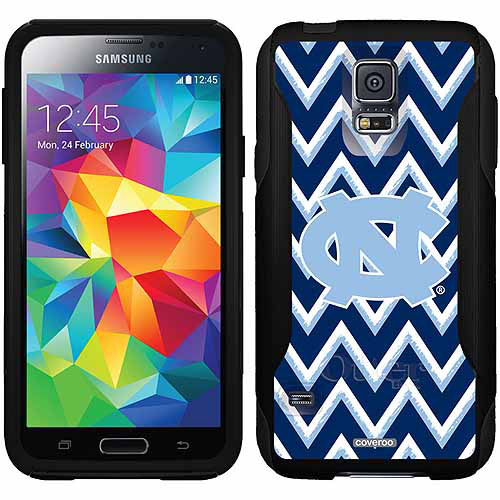 North Carolina Sketchy Chevron Design on OtterBox Commuter Series Case for Samsung Galaxy S5