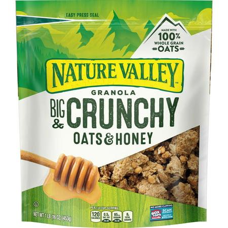 Nature Valley Granola, Crunchy Oats & Honey, 16 oz