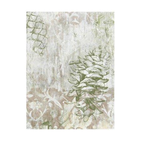 Pinecone Art Projects - Pinecone Fresco II Print Wall Art By June Vess