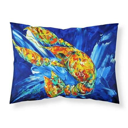 Carolines Treasures MW1228PILLOWCASE Not Your Plano Crawfish Fabric Standard Pillowcase - image 1 of 1
