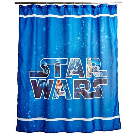Lucas Film Star Wars Classic Saga Shower Curtain