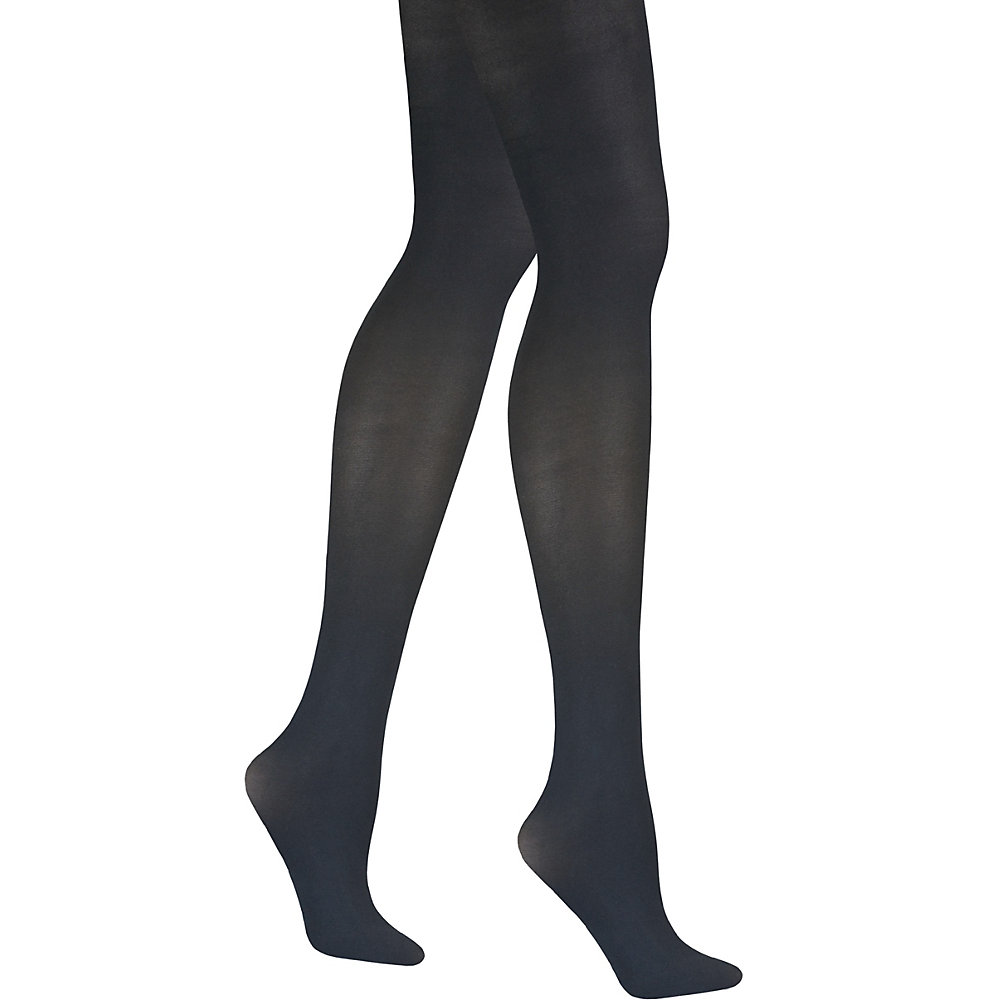 LANDS END Control Top Tights for Women Black Matte size 3X NEW with Free Ship