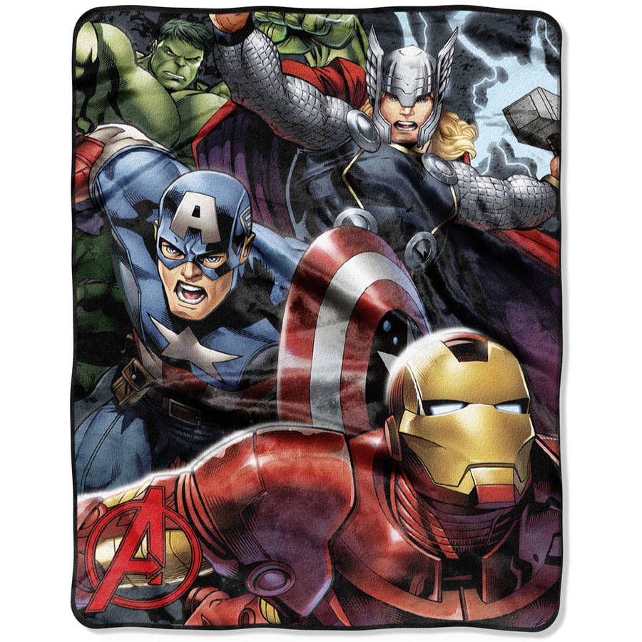 "Marvel's The Avengers ""Teammates"" 40"" x 50"" Silk Touch Throw"