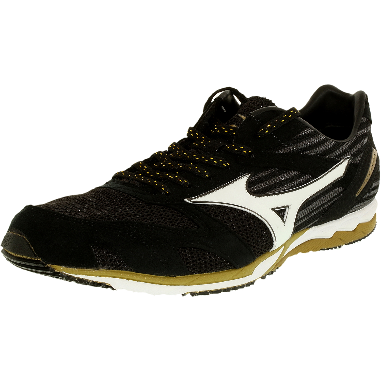 mizuno mens running shoes size 9 youth gold for high up