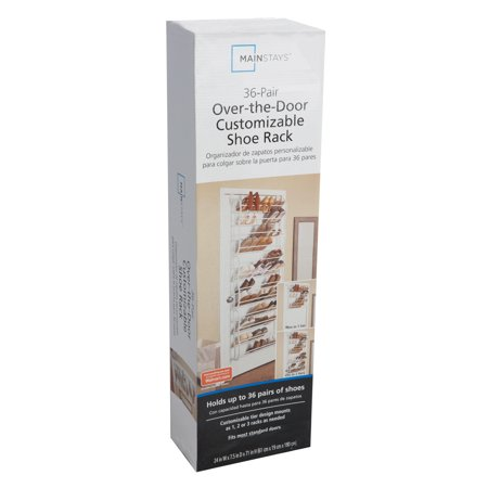 Mainstays Over The Door Shoe rack 36 pair (Dimensions: 24