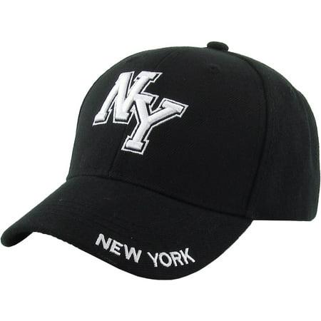 Kid's NY New York Baseball Cap Adjustable Velcro Closure Hat Junior Youth](Chinese New Year Hats)