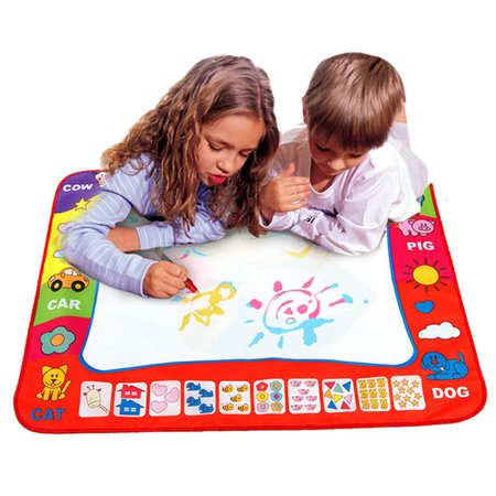 New amusing Aqua Doodle Children''s Drawing Toys Mat Magic Pen Educational Toy 1 Mat+ 2 - Educational Mat