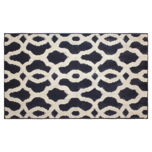 Jean Pierre Cut and Loop Mozart Textured Decorative Accent Rug