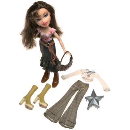 Bratz Style It Dana Doll Set With Change Of Clothes ()