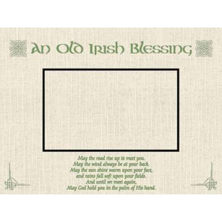 Old Irish Blessing Poster Print by Jace Grey (18 x 24)