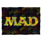 Mad So Much Mad Poly 20X28 Pillow Case White One Size