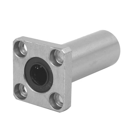 LMK10LUU 10mm Inner Dia Square Flange Mount Linear Motion Ball Bearing