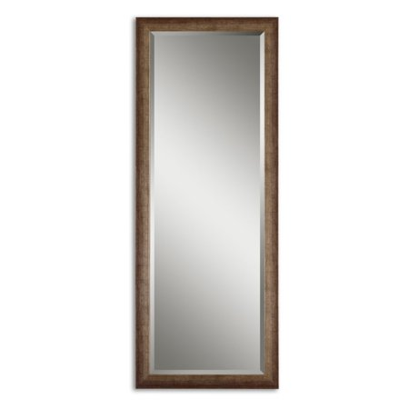 Uttermost Lawrence Antiqued Finish Full Length Wall / Leaning Floor Mirror - 24W x 64H in. ()