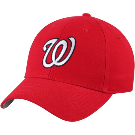 Fan Favorite Washington Nationals '47 Basic Adjustable Hat - Red - OSFA (Washington Nationals Green Hat)