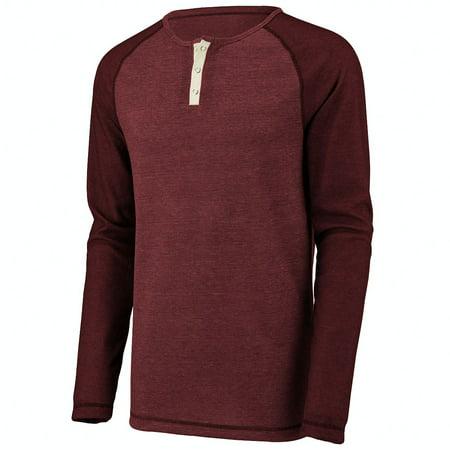 Augusta Sportswear Henley (Augusta Sportswear Men's Linear Fusion Long Sleeve Henley 2Xl Cardinal/Black ...)