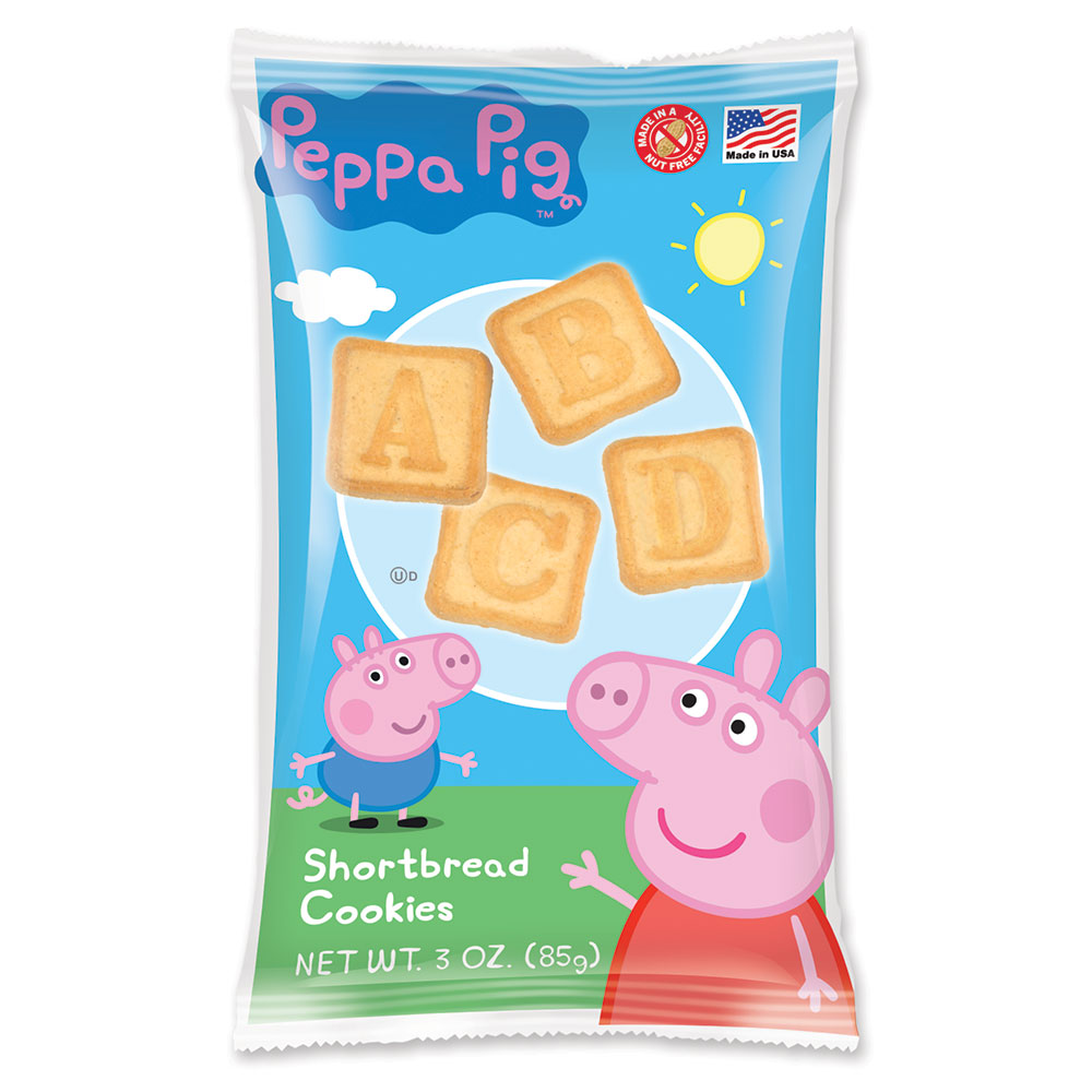 Peppa Pig Shortbread Cookies Peppa Abc 3z