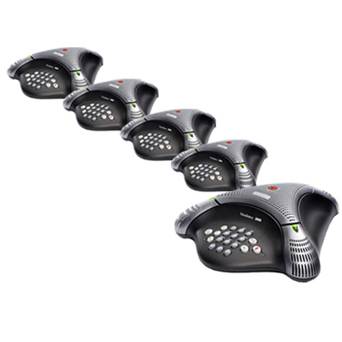 Polycom 2200-17910-001 (5-Pack) VoiceStation 300 Conference Phone