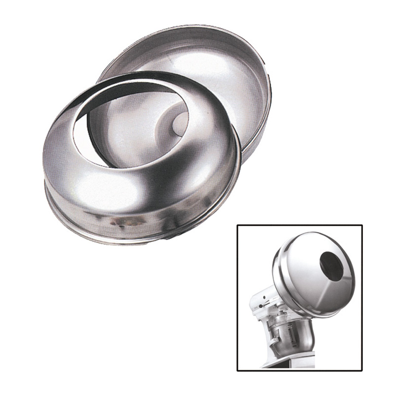 Confectionery Enrobing Panning Attachment for Kitchenaid Mixer, Stainless Steel by