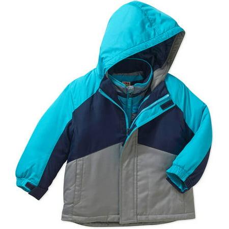 8e0a16203 Healthtex - Baby Toddler Boy 3 in 1 Ski/Snowboard Jacket w/ Removable  Fleece Inner Layer - Walmart.com
