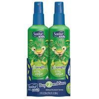 Suave Kids Detangler Spray Silly Apple 10 oz, Twin Pack