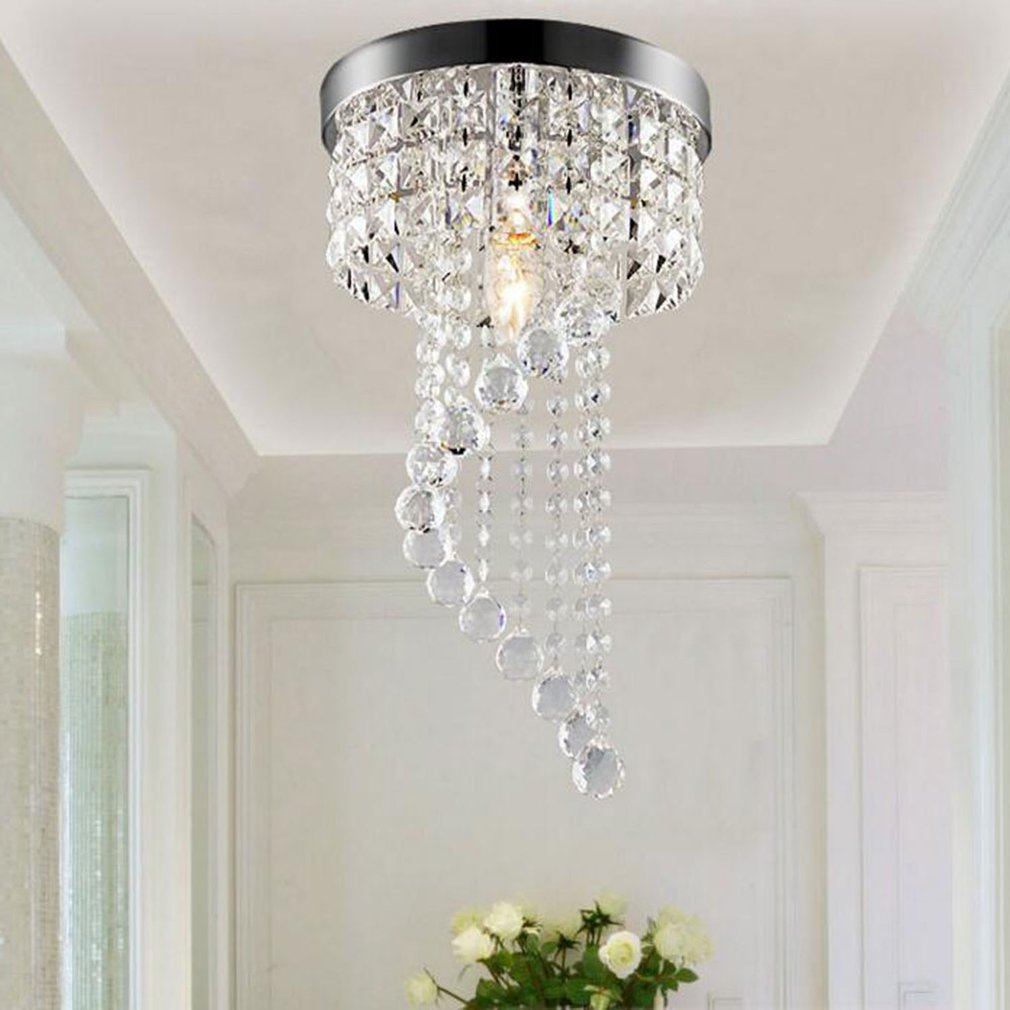 Crystal Chandelier Modern Ceiling Light Pendant Lamp Home Decorative Lamp