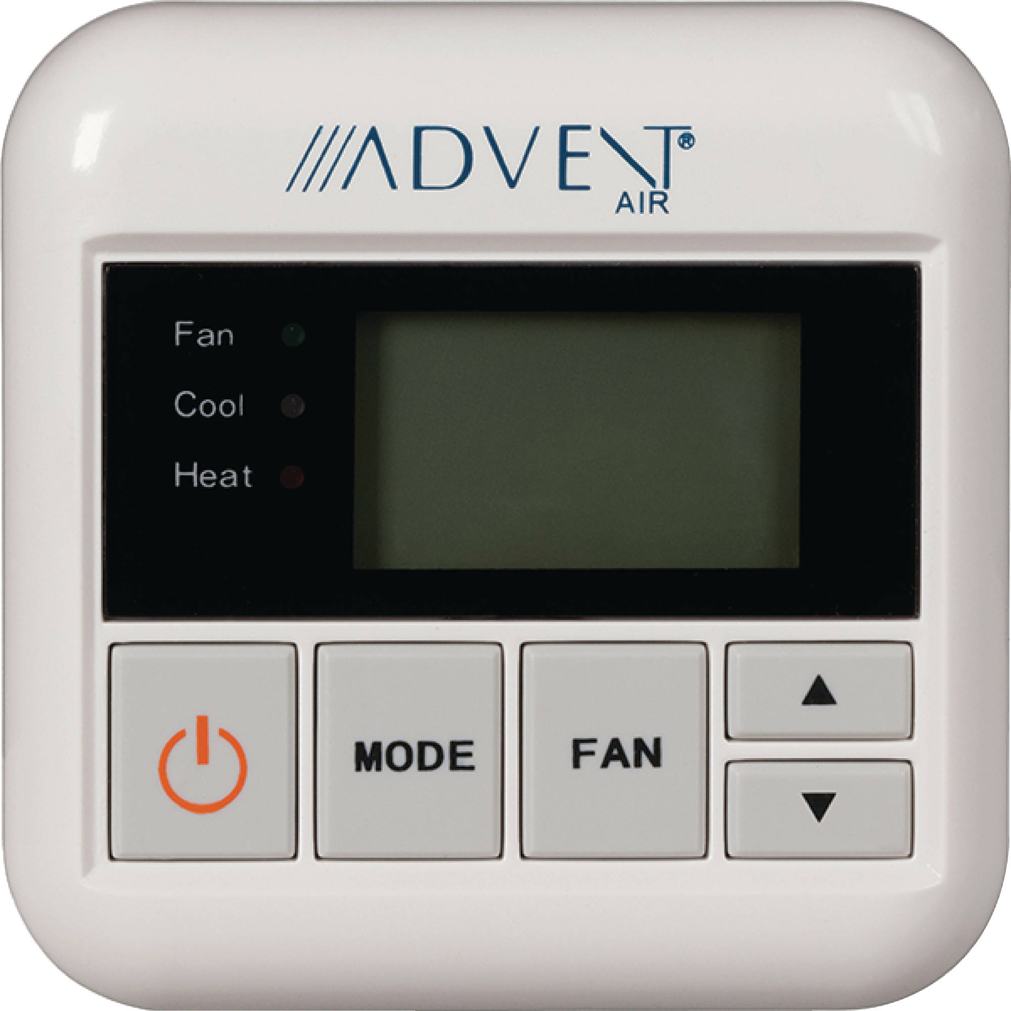 Advent ACTH12 RV AC Air Conditioner and Heat Digital Thermostat with LCD Display