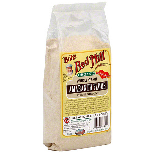 Bob's Red Mill Amaranth Stone Ground Flour, 22 oz (Pack of 4)