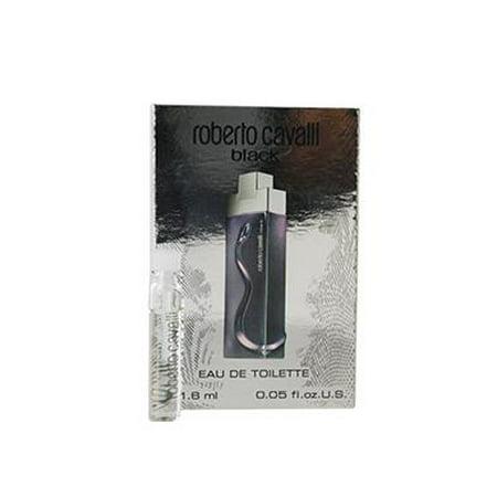 ROBERTO CAVALLI BLACK 10 x .05 oz EDT Vial Men's Cologne splash Sample (Roberto Cavalli Man)