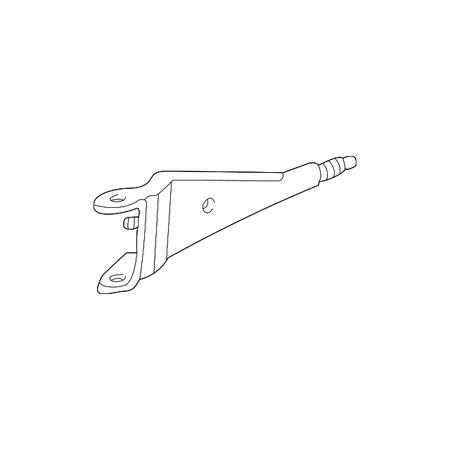 Genuine OE Ford Radius Arm XC2Z-3A360-BA ()