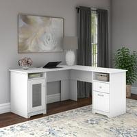 Bush Furniture Cabot 60W L Shaped Computer Desk
