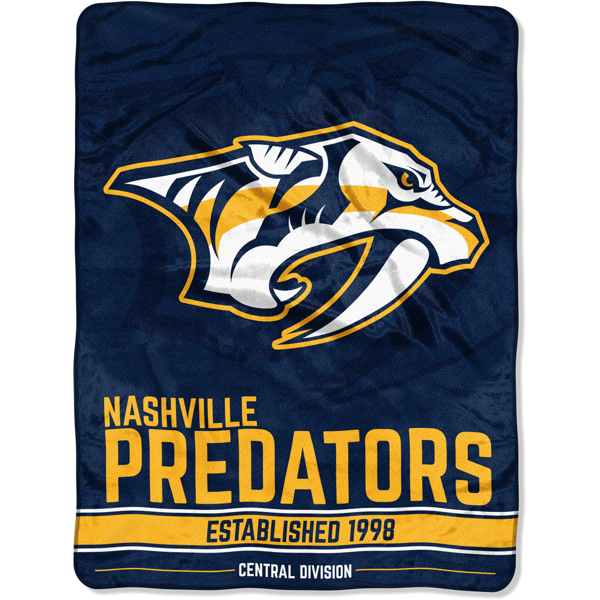 "NHL Nashville Predators ""Breakaway"" 46""x 60"" Micro Raschel Throw"